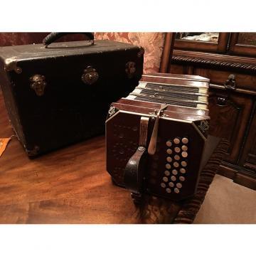Custom F Lange And Uhlig Concertina / Bandoneon / Chemnitzer