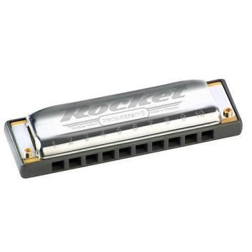 Custom Hohner M2013BX-A Rocket Progressive Harmonica, Key of A