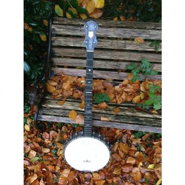 "Custom J.A. Turner ""The Alvey"" 5 String Banjo 1920 Walnut"