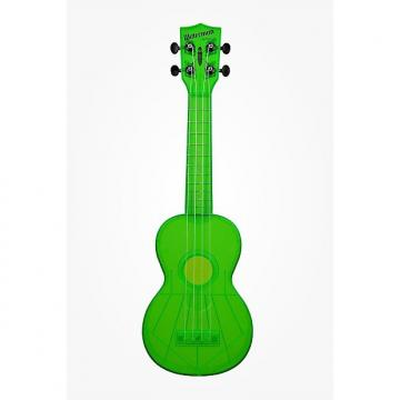 Custom NEW KALA KA-SWF-GN WATERMAN FLUORESCENT SOUR APPLE GREEN SOPRANO UKULELE
