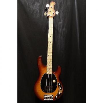 Custom Sterling by Music Man Ray 34QM-HB-M Electric Bass Guitar & Gig Bag #3071