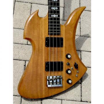Custom B.C. Rich Mockingbird Bass 1977 Koa Wood