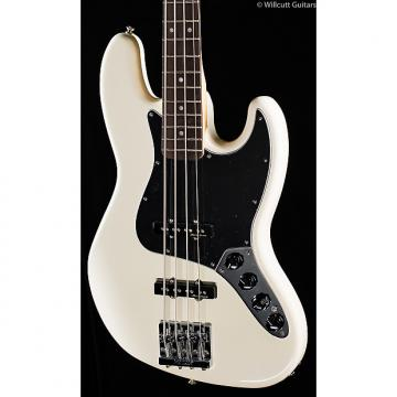 Custom Fender Deluxe Active Jazz Bass Olympic White (458)
