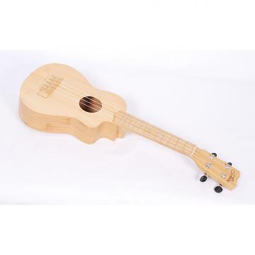 Custom Cordoba 25SB All Bamboo Soprano Ukulele With Case