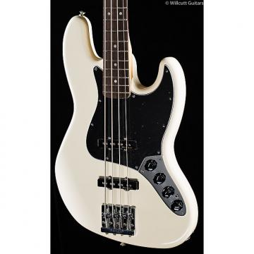 Custom Fender Deluxe Active Jazz Bass Olympic White (211)