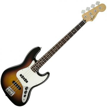 Custom Fender Standard Jazz Bass Guitar Rosewood Brown Sunburst
