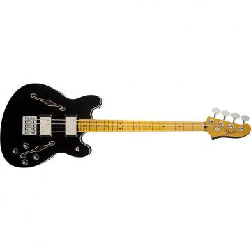 Custom Fender Starcaster Bass Guitar Black