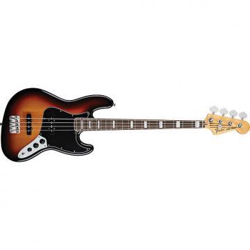 Custom Fender Classic 70s Jazz Bass Guitar 3-Tone Sunburst