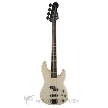 Custom Fender Duff McKagan Precision Rosewood Fingerboard Electric Bass Pearl White - 0146500323