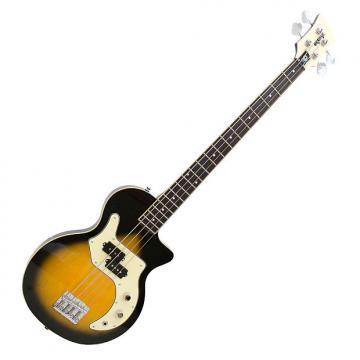 Custom Orange O Bass  2016 Vintage Teardrop Sunburst