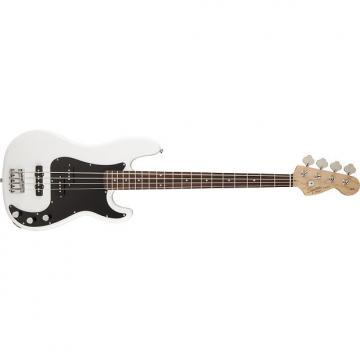 Custom Squier Affinity PJ Bass Guitar Olympic White