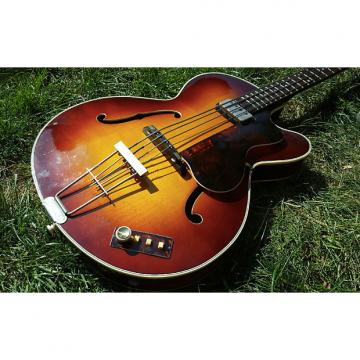 Custom Hofner  Senator Bass , Ex Hollies , British Beat Band  1963  Sunburst