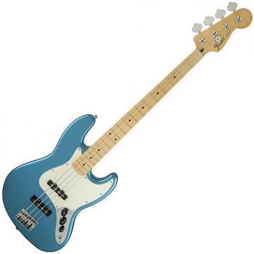 Custom Fender Standard Jazz Bass Guitar Maple Lake Placid Blue