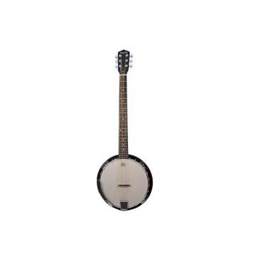 Custom Danville Banjo 24 Bracket, Inlaid Mother of Pearl, Sealed 5th Gear Bound Rose Wood Fret Board #BJ-00