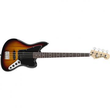 Custom Squier Vintage Modified Jaguar Bass Special 3-colour Sunburst