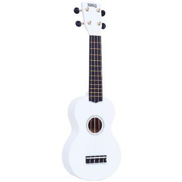 Custom Mahalo MR1WT Ukulele White