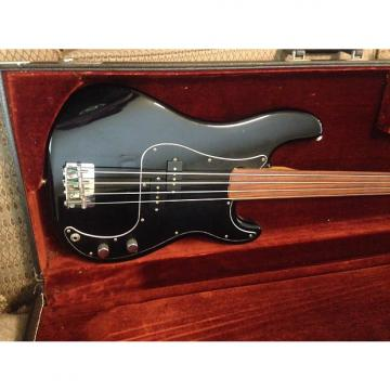 Custom Fender Precision Fretless 1978 Black
