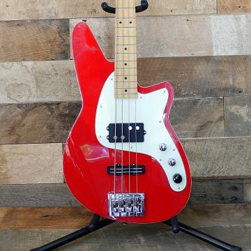 Custom Reverend Decision Bass Party Red