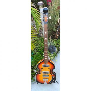 Custom 1960's Sekova Hollow Body Bass Guitar Hofner 500 Copy REDUCED PRICE