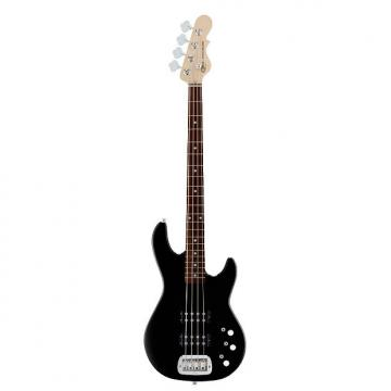 Custom G&L Guitars L-2000 Gloss Black Tribute Series 4-String Electric Bass with Basswood Body and Rosewood Fingerboard