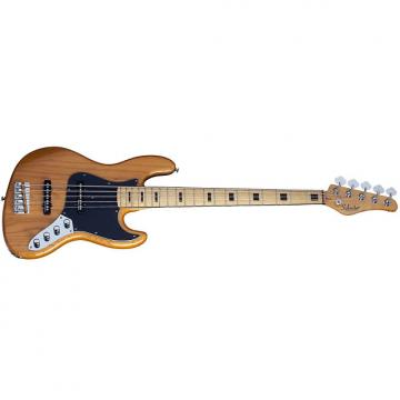 Custom Schecter Diamond-J 5 Plus Aged Natural AN 5-String Electric Bass with Free Gig Bag!