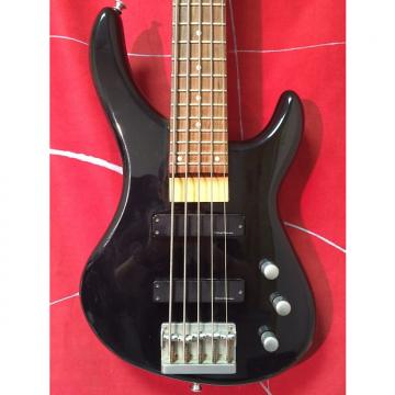 Custom Jackson 5 String Bass Black