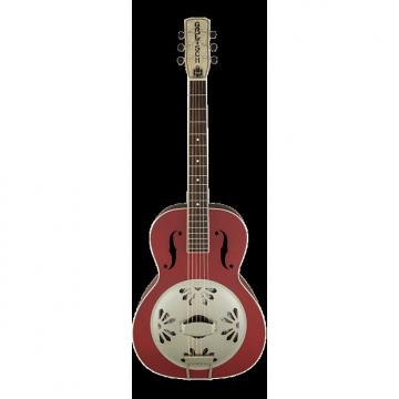 Custom Gretsch G9241 Alligator Biscuit Round-Neck Acoustic/Electric Resonator