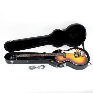 Custom 100% Brand New! Hofner Ignition Club Bass Sunburst HI-CB-SB Spruce Top Electric Bass with Hardcase