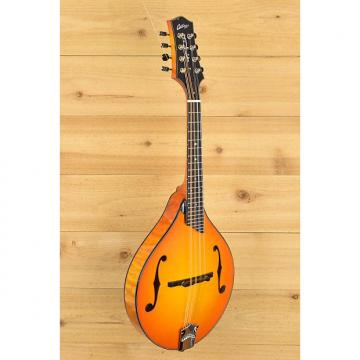 Custom New Collings MT2 Quilted Maple Tangerine Burst A-Style Mandolin (#A3665)
