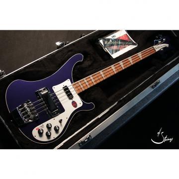 Custom Rickenbacker 4003 Midnight Blue