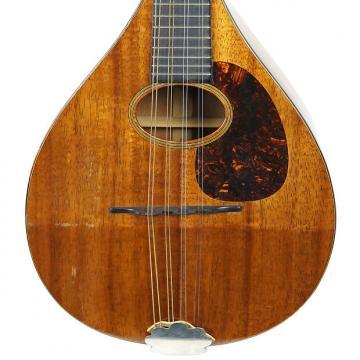Custom Vintage 1923 Martin Style AK All Koa Mandolin Natural Finish