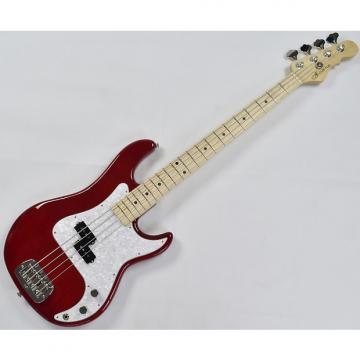 Custom G&L USA Custom LB-100 Empress Body Electric Bass in Clear Red! Under 7 lbs!
