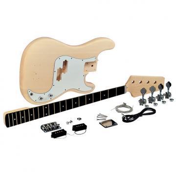 Custom Saga PB-10 P-Style Electric 4-String Bass Guitar Kit