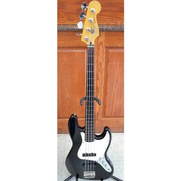 Custom Fender Standard Jazz Bass Fretless 4-String Guitar 1998-1999 Black MIM Made In Mexico