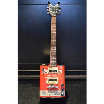 Custom Vintage OIl Can Guitar with Two Humbuckers
