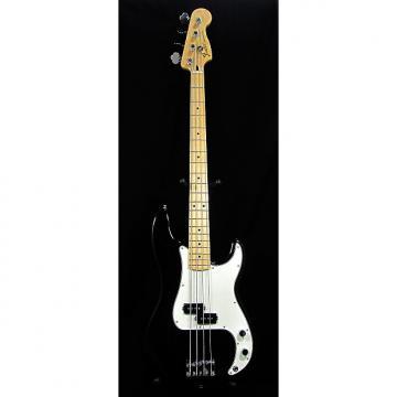 Custom Fender Standard Precision Bass Black Electric Bass Guitar