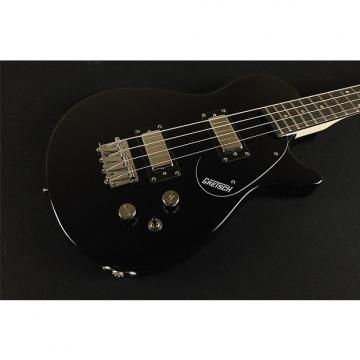 "Custom Gretsch G2220 Junior Jet Bass II Rosewood Fingerboard 30.3"" Scale - Black (241)"