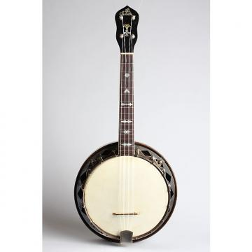 Custom Gibson  UB-4 Banjo Ukulele (1927), ser. #8818-15, black hard shell case.