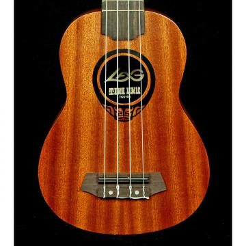 Custom New! LAG Ukuleles TKU10S Tiki Uku Soprano Uke w/ Gig Bag - French Satin Finish