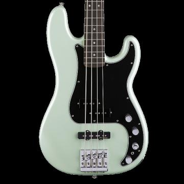 Custom Fender Deluxe Active Precision Bass with Rosewood Fingerboard - Surf Pearl with Gig Bag
