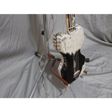 Custom Fur and Raw Hide Cigar Box Guitar (Noisemaker, Wallhanger)