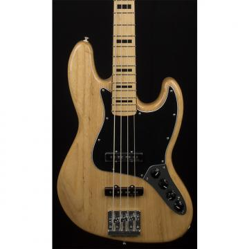 Custom Fender Deluxe Active Jazz Bass Natural