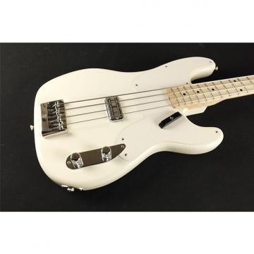 Custom Fender Custom Shop 2014 Proto Precision Bass - Maple Fingerboard - Arctic White C-JUL