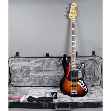 Custom Fender American Elite Jazz Guitar 2016 Sunburst