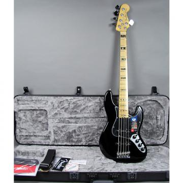 Custom Fender American Elite Jazz Bass V 5-String 2016 Black