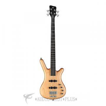Custom Warwick Corvette Rockbass Basic Active 4 Strings Electric Bass Guitar Natural - 1504039005CAALDAWW-U