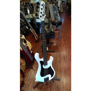 Custom Dean Hillsboro 2015 White 4 String Bass