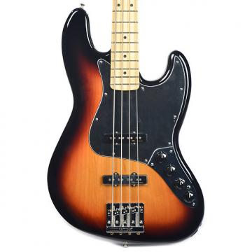 Custom Fender Deluxe Active Jazz Bass MN 3-Tone Sunburst