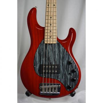 Custom Music Man Classic StingRay 5 2005 Cherry Red (Used)