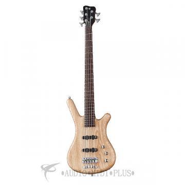 Custom Warwick German Pro Corvette 5-Strings Electric Bass Guitar Natural Satin Ash - GPS124590PPASHFR-U
